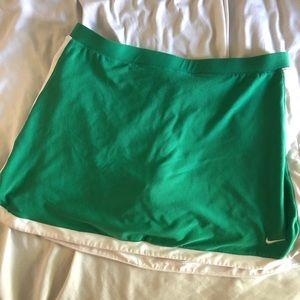Nike active tennis skirt